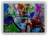 spanish_painters._spain_artists.merello.einstein_73x54_cm_mix_media_on_table